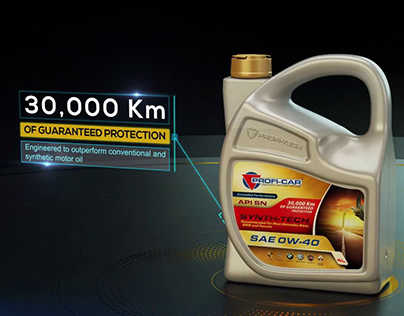 Proficar Motor Oil TV Commercial | New Product Announce