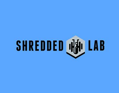 LOGO DESIGN - SHREDDED LAB FITNESS