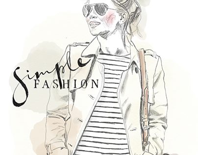 Illustration Fashion free work