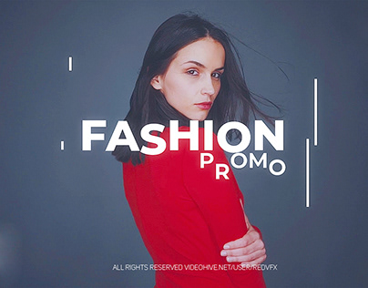 Dynamic Fashion Promo (After Effects Template)