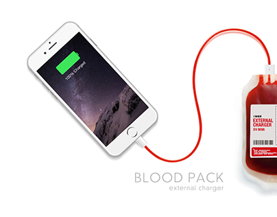 Blood Pack External Charger