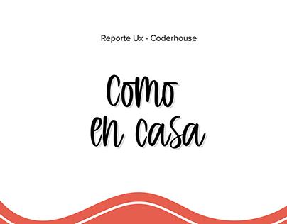 Proyecto Ux/Ui para Coderhouse - ComoenCasa