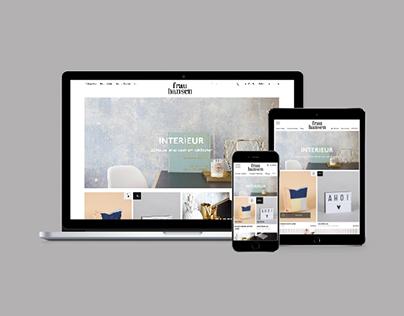 Frau Hansen concept store - webshop