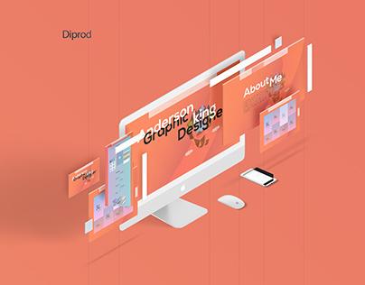 graphic design portfolio- web design UI