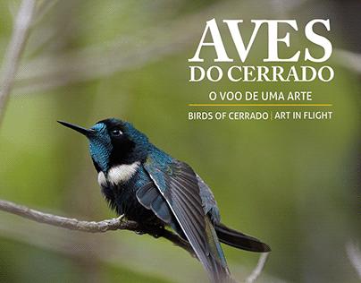 Projeto Gráfico do Livro Aves do Cerrado
