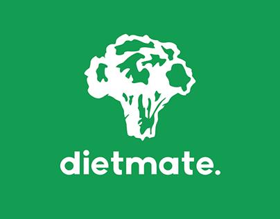 """Dieting App Logo """"dietmate"""""""