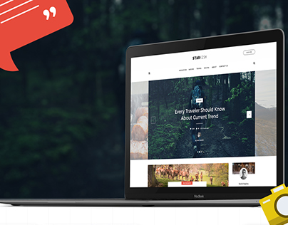 Starkish - Blog Website Concept
