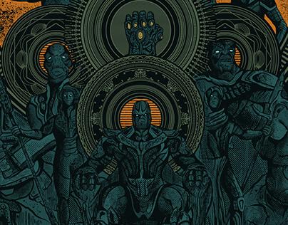 Infinity War | Poster Tribute