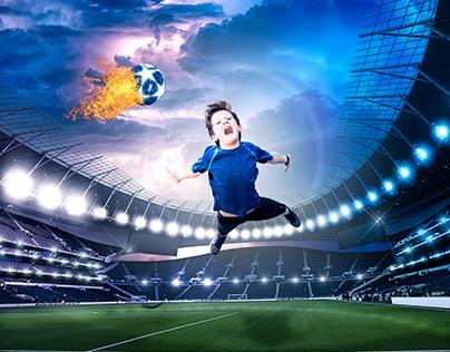 Mason's Epic Soccer Game