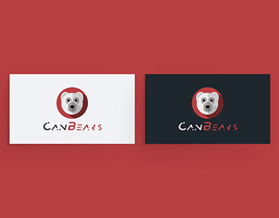 Business card and logo for the company CanBears