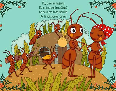 Illustrations inspired by Otilia Cazimir poems