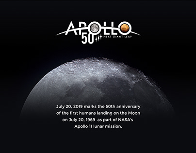 50th anniversary of the humans landing on the Moon