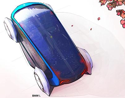 BMW i COACH 2.0 - mobility design