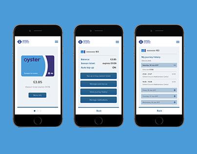 TFL Oyster Card