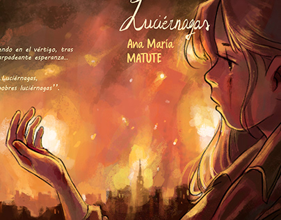 Luciérnagas/Fireflies (Illustrated book)