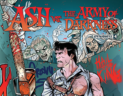 Ash Vs. The Army of Darkness Cover Color