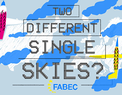 two different single skies - animated explainer