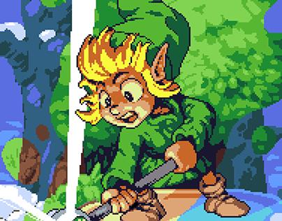 Pixel Art Portfolio