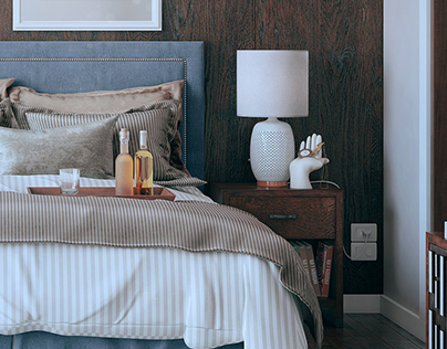 "Bedroom Set_01 ""Semi Traditional Style"""