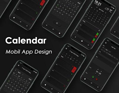 Calendar Mobile App