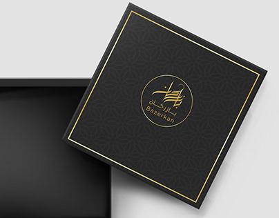Bazerkan Arabic Logo, Branding and Packaging