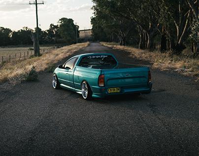 Ford Falcon - Aqua Blue