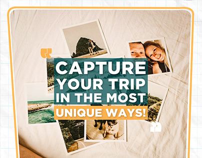 Instagram post - Unique ways to capture your trip!