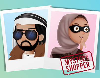 mystery shopper characters