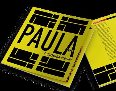 Layout Design ; Inspired By Paula Scher