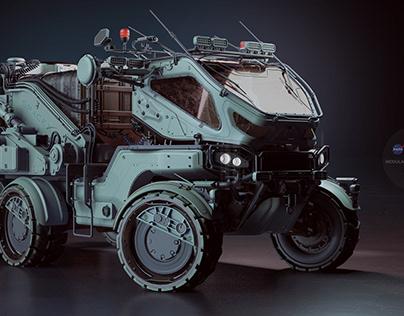 D25 Modular Rover