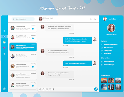 Messenger Idea Concept version 1.0