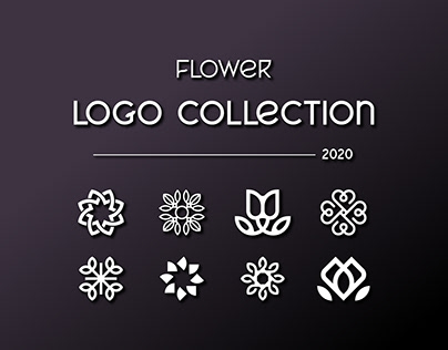 Flower Logo Collection   2020