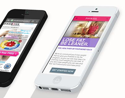 Mobile Web Design - Food Lovers