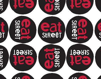 Eat Street Branding Pattern Sampler