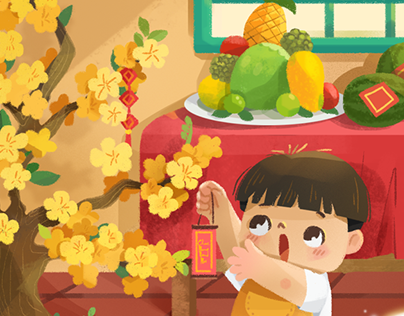 Tường An Vio Illustrations