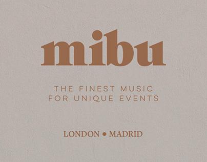 MIBU - branding & website design