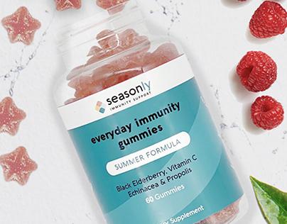 Seasonly Health: Shopify Store