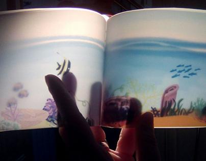 Translucent book