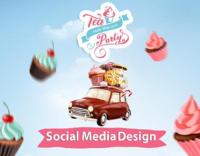 social media design- sweet
