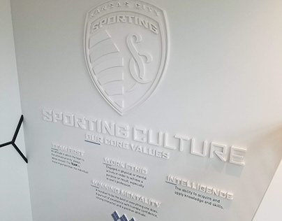 Sporting KC Core Values Wall
