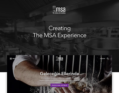 MSA Website Redesign