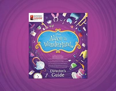 Alice in Wonderland JR. Branding