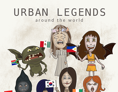 Cartooning attempts | Urban Legends Around the World