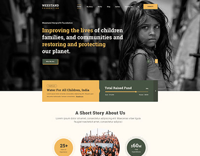 Weestand - Charity Design