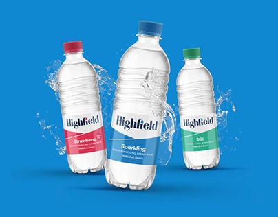 Highfield Spring Water Packaging