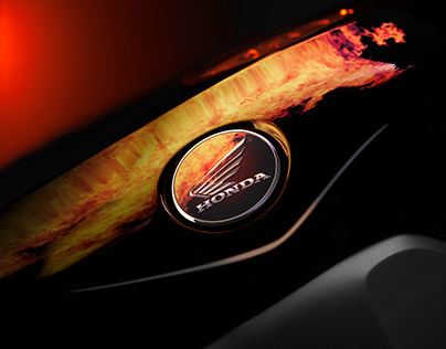 Honda Fireblade Photoshooting