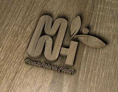 Miracle Natural Health Logo Mockup