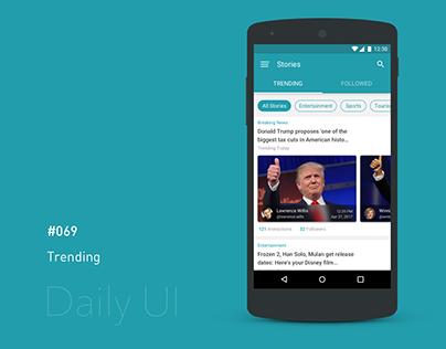 Daily UI - #069