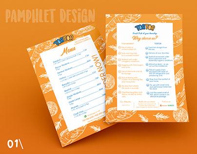 Pamphlet and Flyer Design for TORTOR