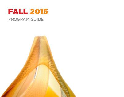 Morris Museum Program Guide - Fall 2015